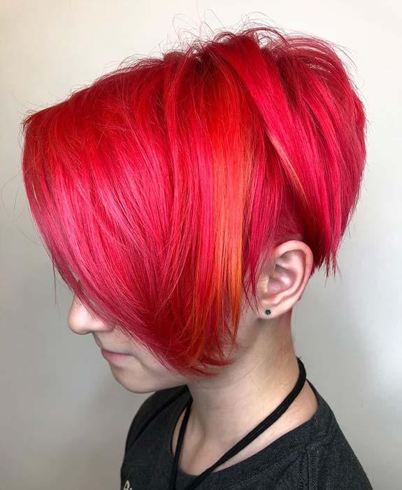 Bright Red Hair Idea