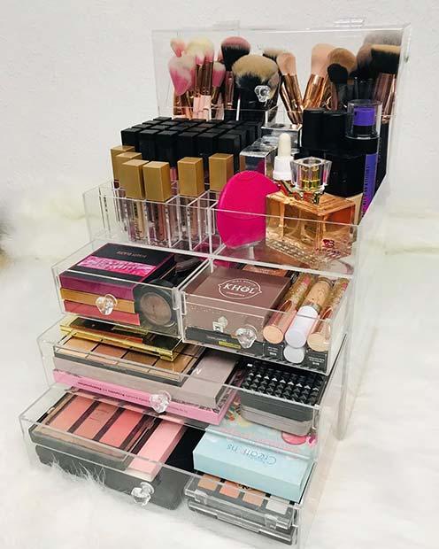Compact Makeup Organizers