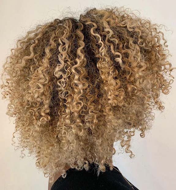 Cute Blonde Curls