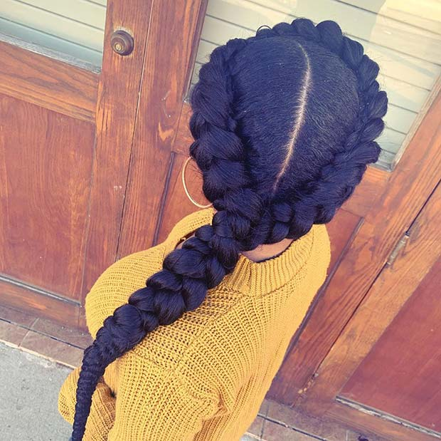 Easy to Wear Braided Hairstyle