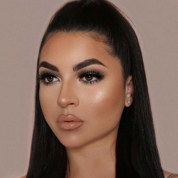 Easy to Wear Prom Makeup