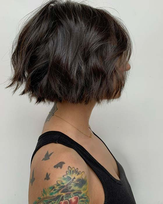 Easy to Wear Short Bob Hairstyle