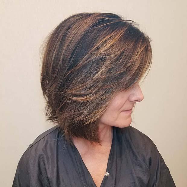Elegant Layered Cut