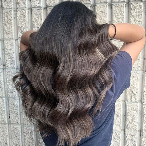 Glam Ash Brown Waves