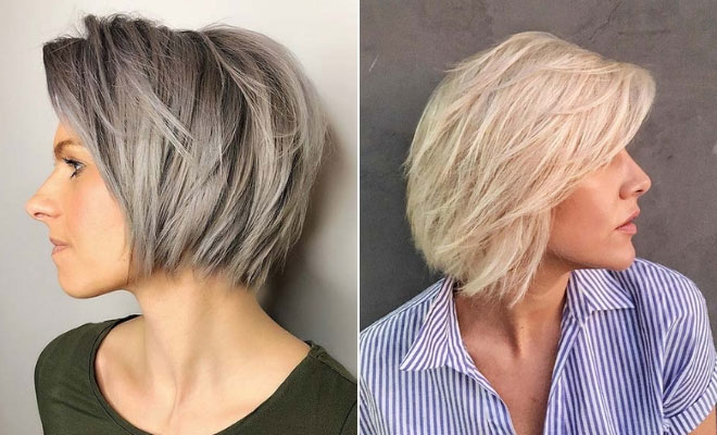 23 Layered Bob Haircuts We Re Loving In