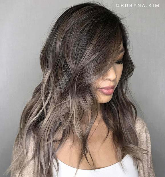 Light Ash Brown Hair Idea