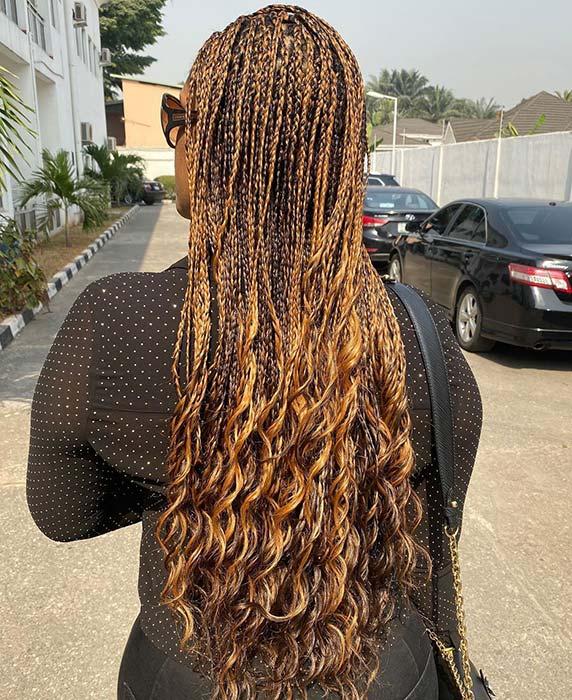 Long Coppery Hair Idea