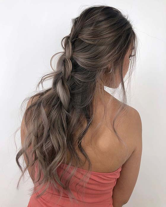 Long and Beautiful Brown Hair