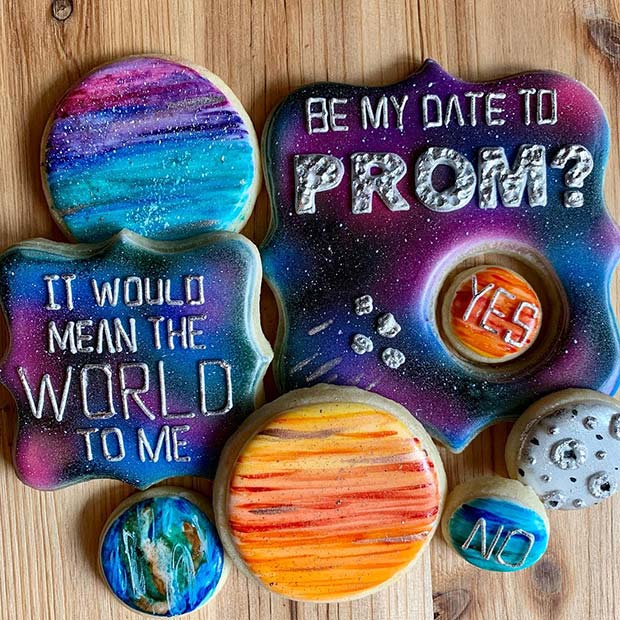 Out Of This World Cookies for Prom