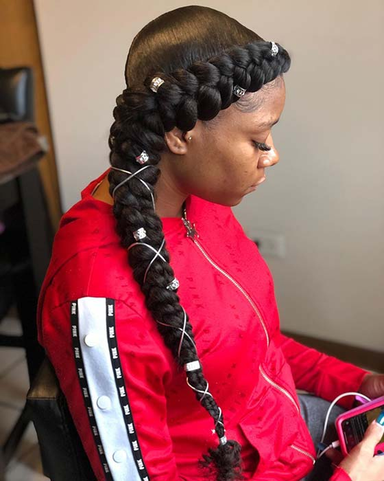 Pretty Braids with Cords and Cuffs
