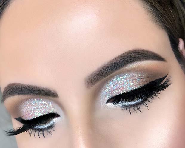 Sparkly Glitter Eyes