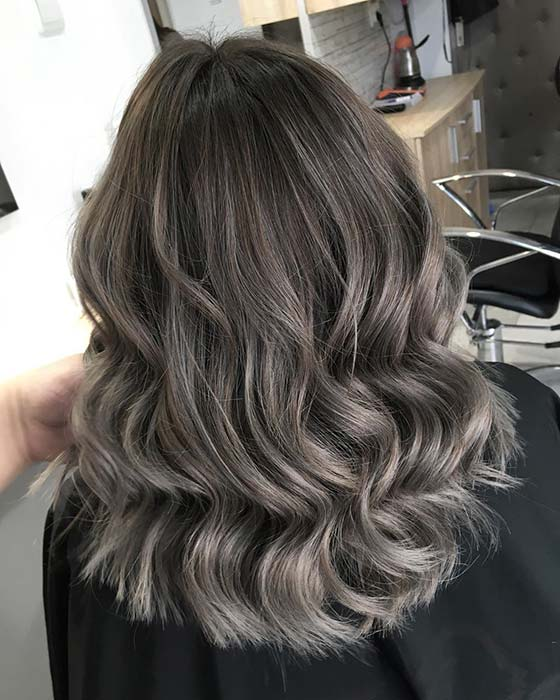 Stunning Ash Blonde Waves
