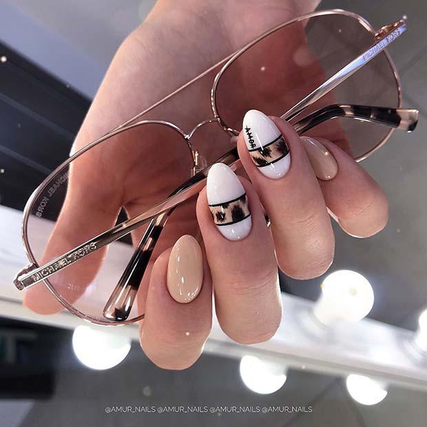 Trendy Animal Print Nails