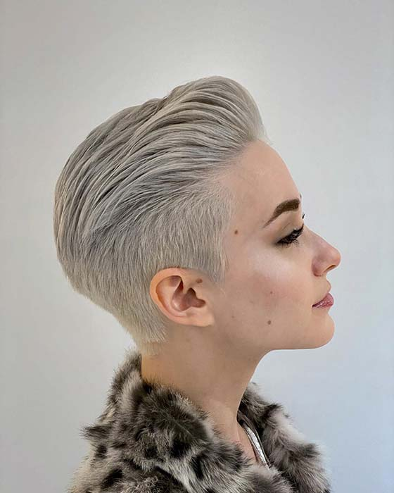 Trendy Short Haircut and Color