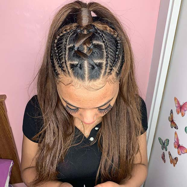Trendy Half Up Hairstyle