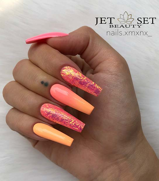 Bright and Summery Nails