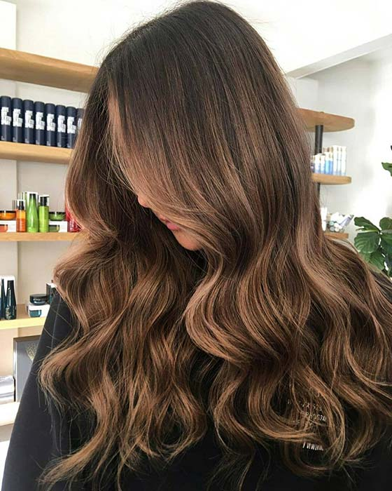 Chestnut Ombre Hair Idea