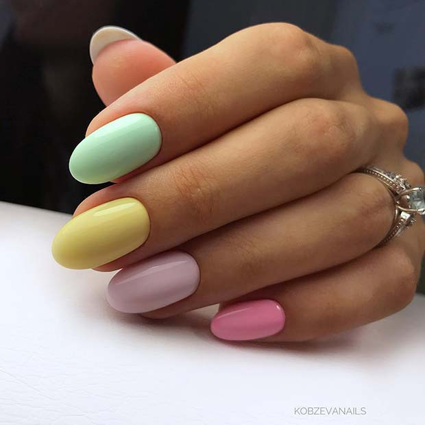Chic Spring and Summer Nails