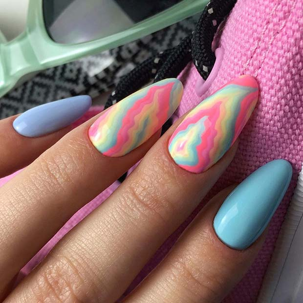 Cute and Colorful Nails