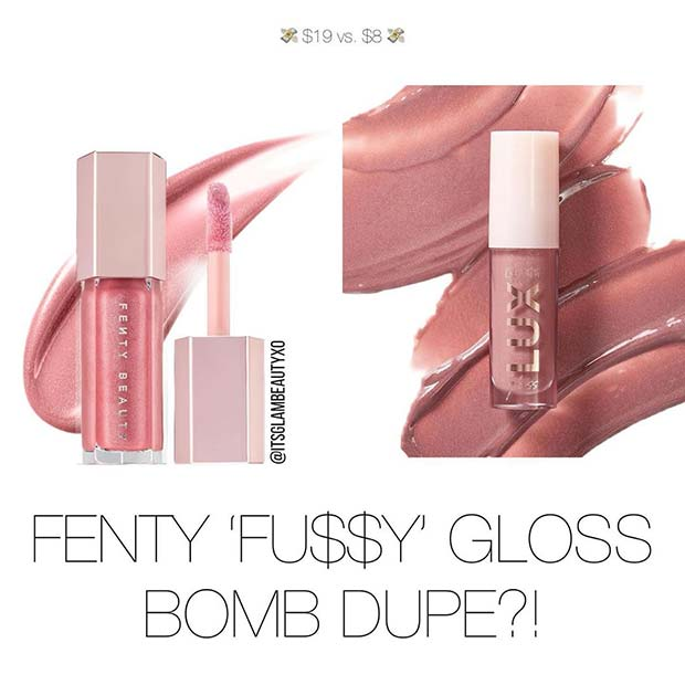 Fenty Beauty Gloss Dupe