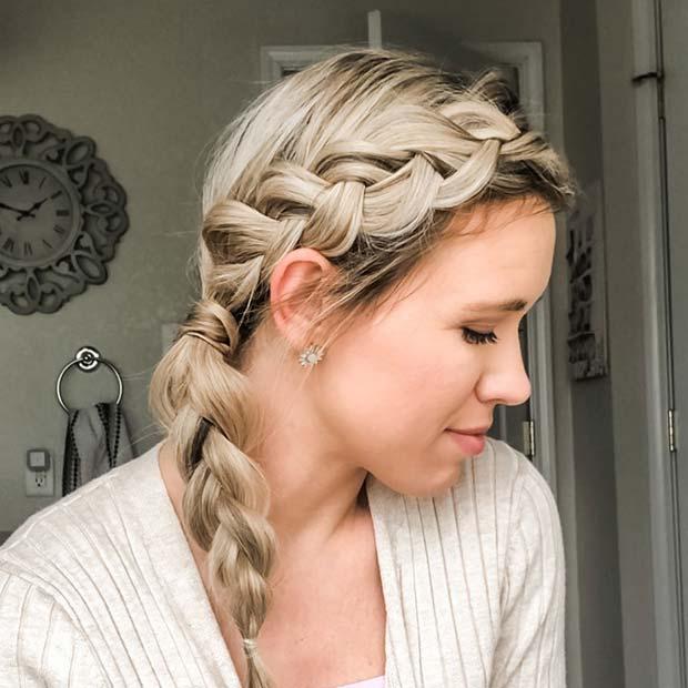 Simple and Stylish DIY Side Braid