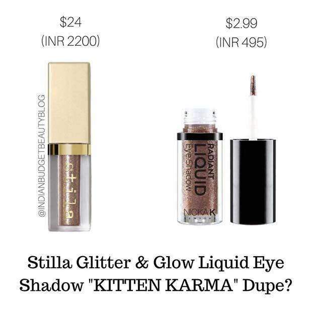 Stila Glitter Liquid Eye Dupe