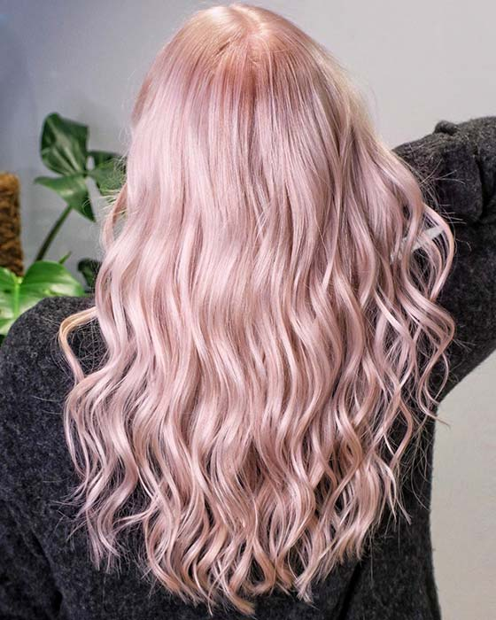 Subtle Light Pink Color
