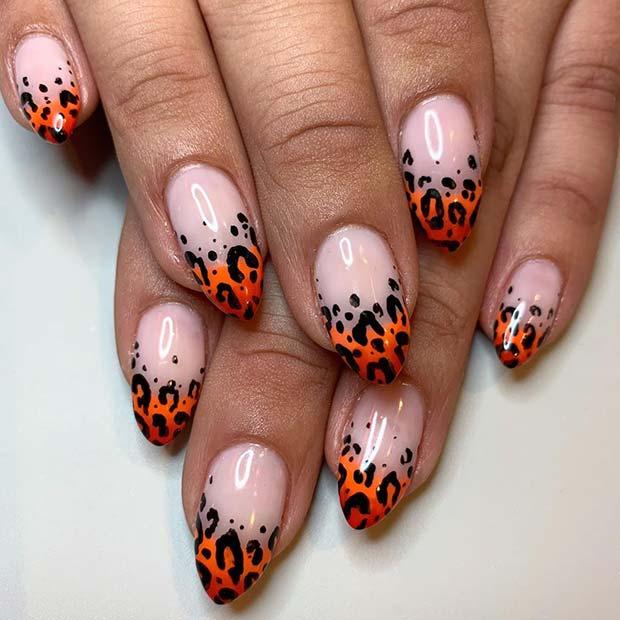 Wild Leopard Nails