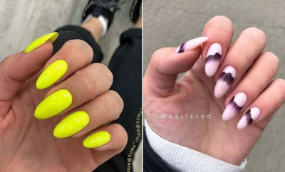 Creative Nail Designs for Almond Acrylic Nails