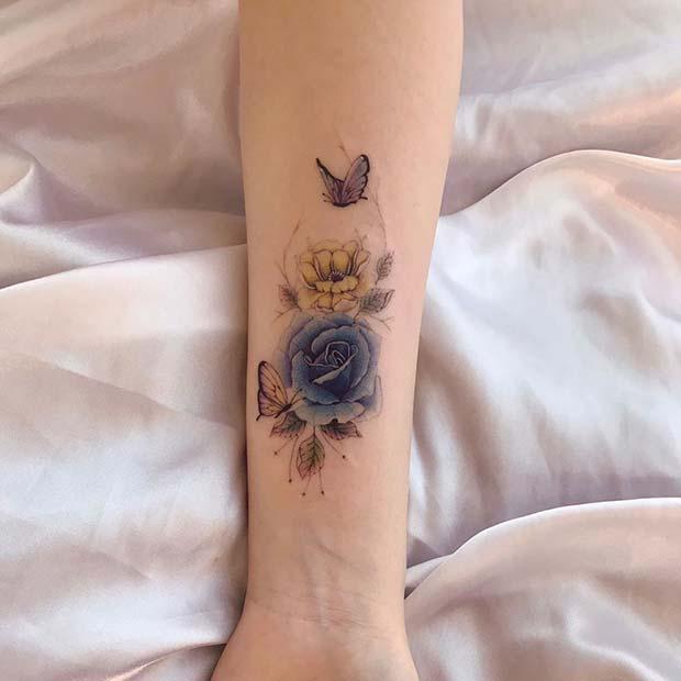 Dainty and Pretty Tattoo Design