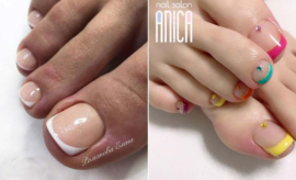French Pedicure Ideas