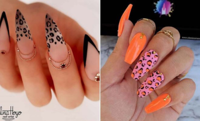 New Ways to Wear Leopard Nails