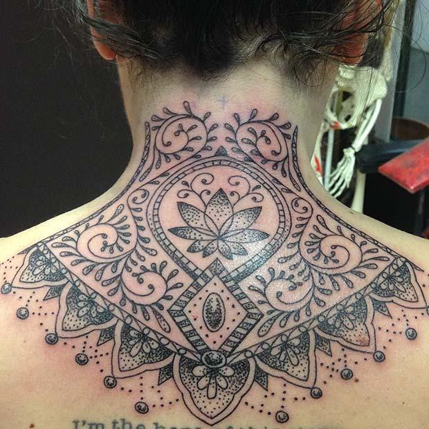 Patterned Tattoo Idea