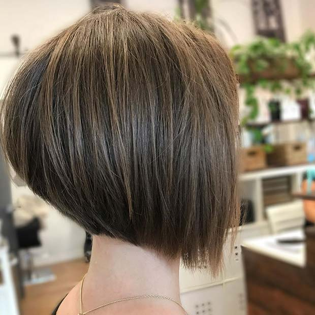 Simple and Stylish Bob Cut
