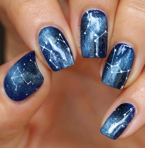 Star Constellation Nails