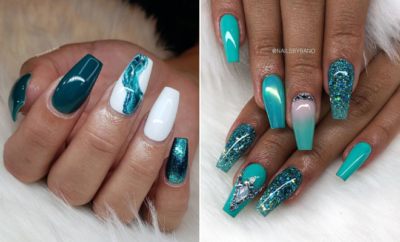 Teal Nail Designs We Can't Wait to Try