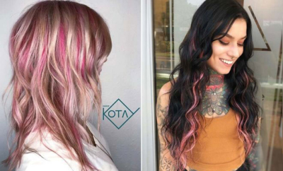 Ways to Wear Pink Highlights