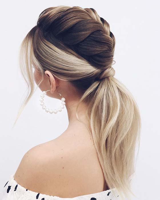 Braid with a Ponytail