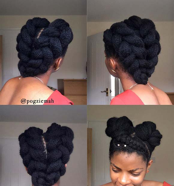 Beautiful Braided Natural Style