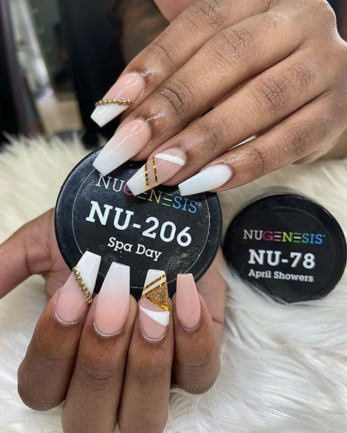 Chic and Stylish Dip Nail Designs