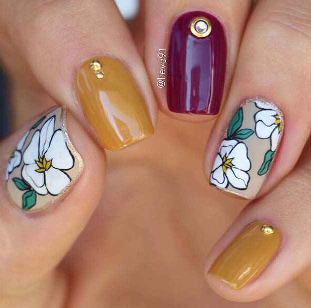 Cute Nail Art Idea for Short Nails