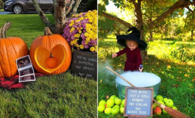 Halloween Pregnancy Announcement Ideas
