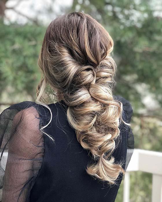 Princess Braid Hairstyle