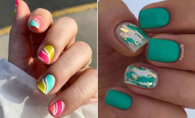 Short Nail Designs for Summer
