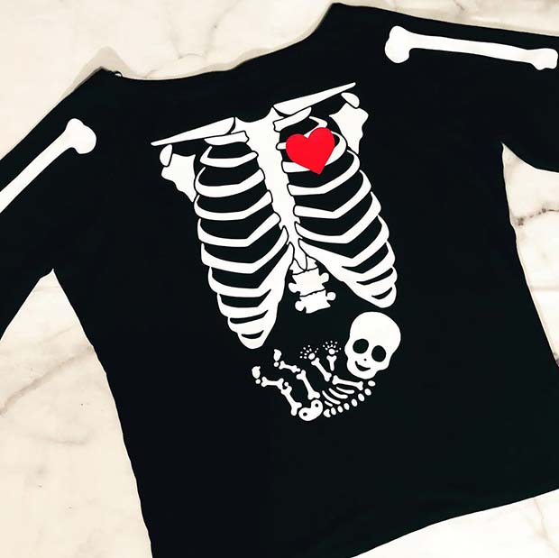 Skeleton Bump T-Shirt Idea