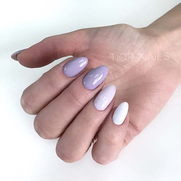 Simple Oval Nails