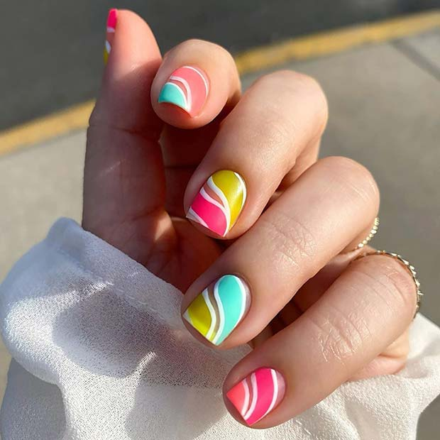 Unique Candy Nail Art