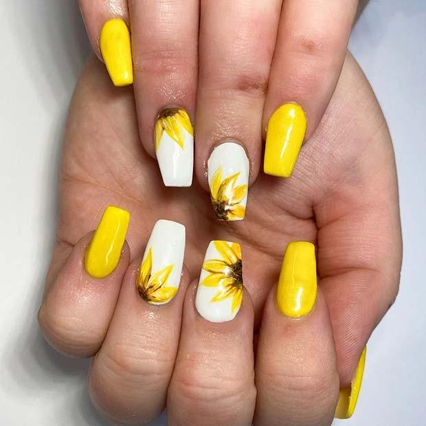 Vibrant Nail Idea
