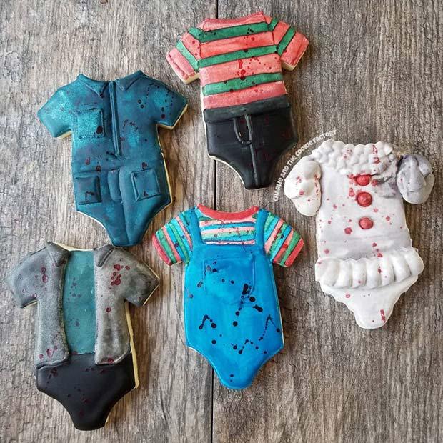 Baby Horror Character Cookies