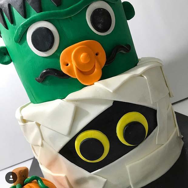Baby Monster Cake